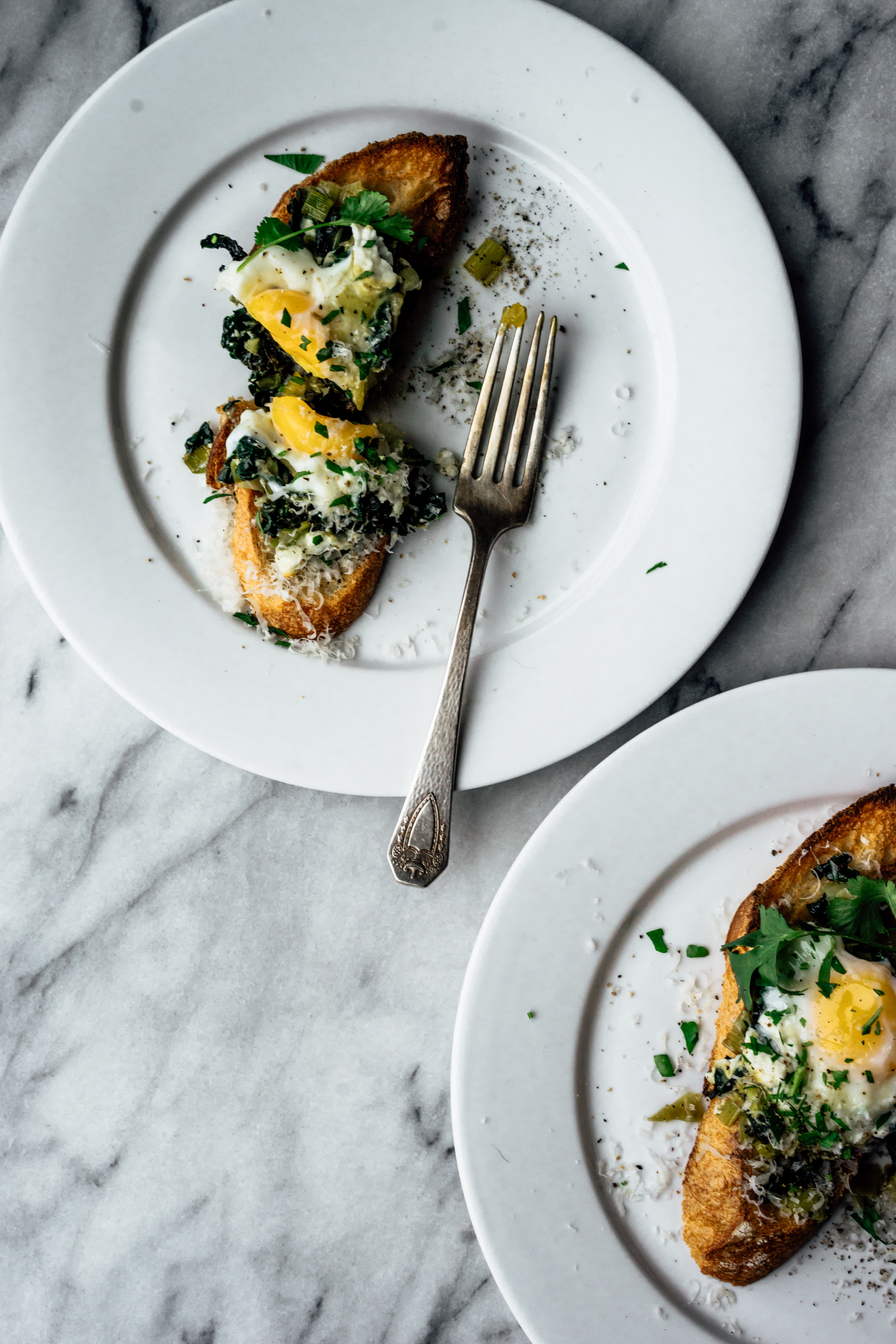 Baked Eggs on Toast | TENDING the TABLE