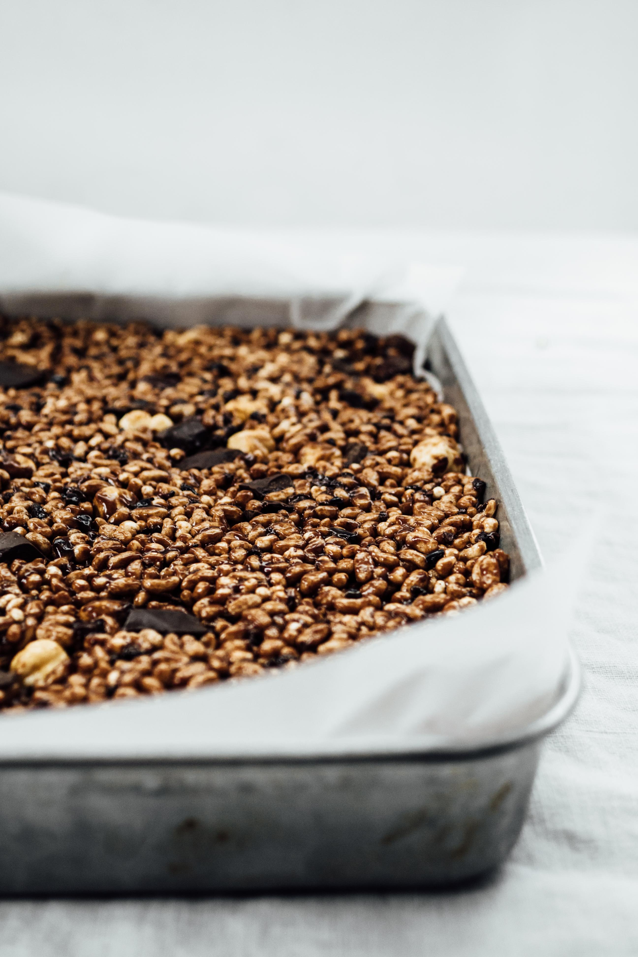 Rice Crispy Bars Three Ways | TENDING the TABLE